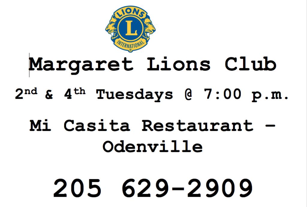 Margaret Lions Club
