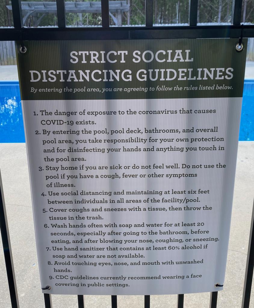 Pool Guidelines